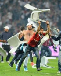 Beşiktaş Galatasaray maçı fotoğrafları