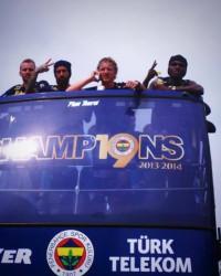 Fenerbahçe'den Şampiyonluk Turu