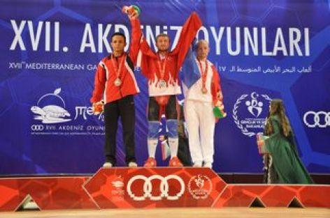Akdeniz Oyunaların da ilk altın Bünyamin Sezer'den