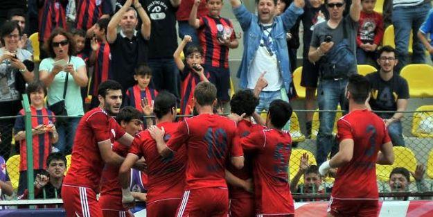 Altınordu 1. Lig'de!