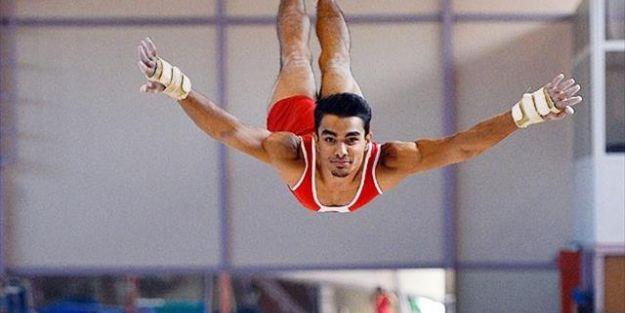 Arıcan cimnastik tarihine geçti