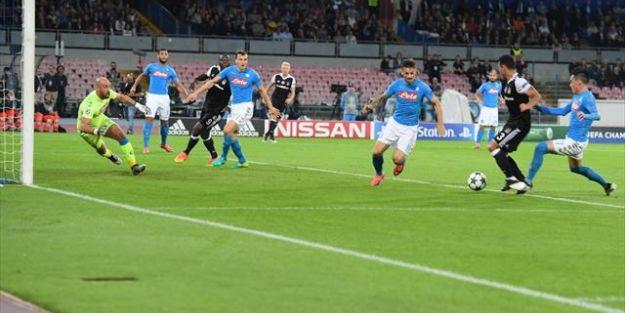 Beşiktaş'ın Napoli zaferi!