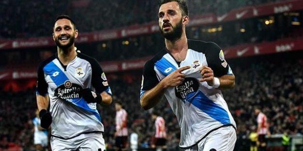 Emre Çolak, Deportivo'da 'en iyi' oyuncu seçildi