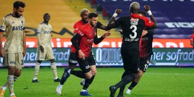 Fenerbahçe Antep'te kayıp