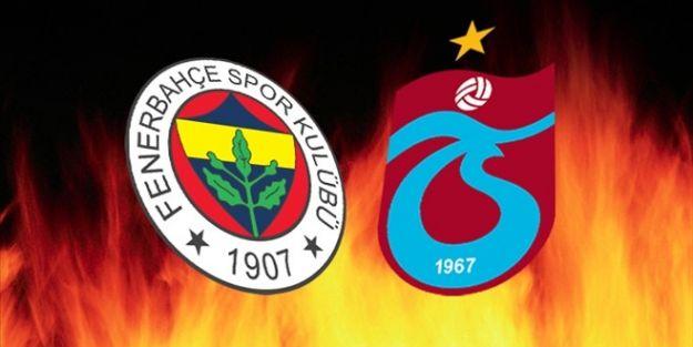 Fenerbahçe-Trabzonspor maçı hangi kanalda saat kaçta başlayacak?