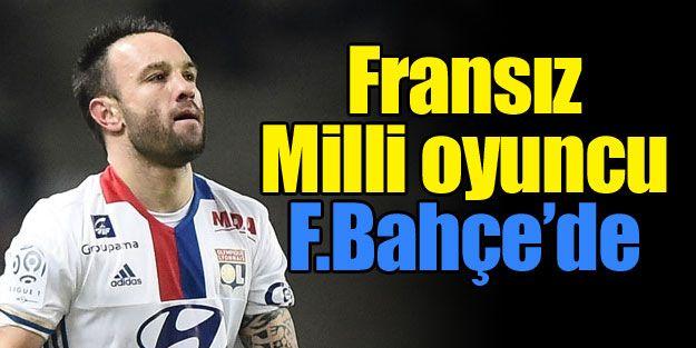 Fransız Milli oyuncu Fenerbahçe'de