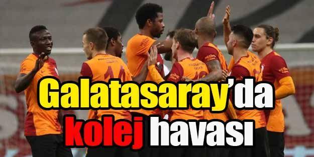 Galatasaray'da kolej havası