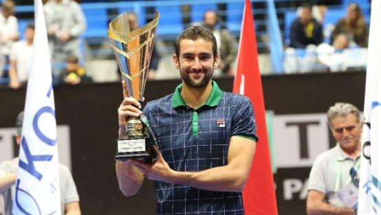 İstanbul Cup'ta zafer Cilic'in