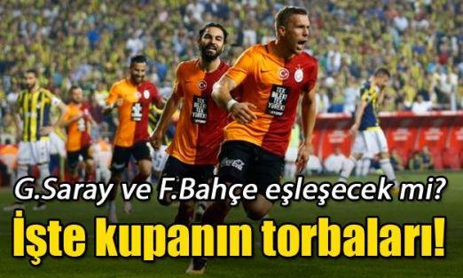 İşte Ziraat Türkiye Kupası'nda torbalar!