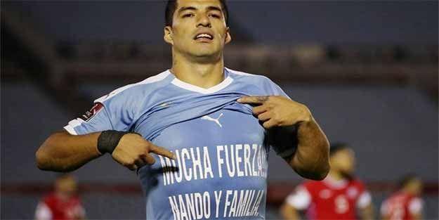 Luis Suarez'den Muslera'ya özel mesaj
