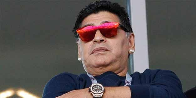 Maradona hastaneye kaldırıldı