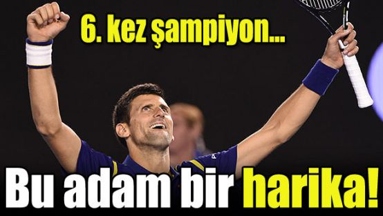 Novak Djokovic şampiyon oldu