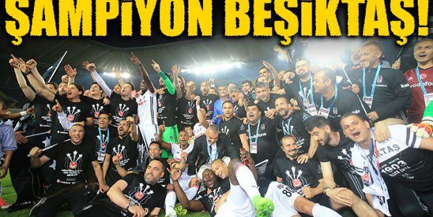 Şampıyon Beşiktaş !