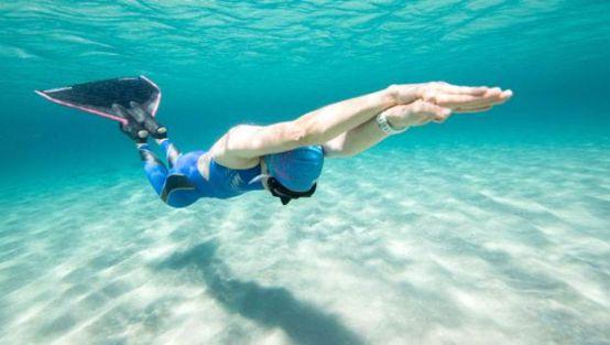 Su altında Türkiye rekoru!
