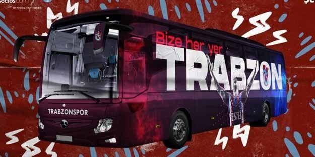 Taraftar Trabzonspor'un yeni takım otobüsünü belirledi