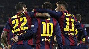 Barça gole doymuyor! Yine coştular...