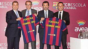 Barcelona ile dev anlaşma!