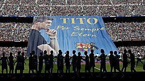 Barcelona, Tito'yu unutmadı