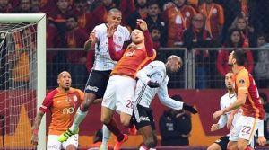 Derbide zafer Beşiktaş'ın
