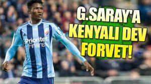 Galatasaray'a Kenyalı forvet!