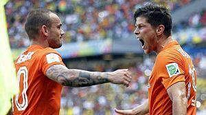 Huntelaar için Sneijder devrede!
