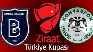 Konyaspor-Başakşehir maçı hangi kanalda saat kaçta? (Türkiye Kupası Finali)