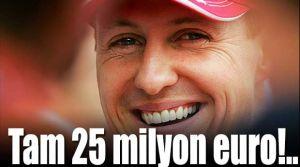 Schumacher'e servet döktüler