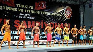 Vücut Geliştirme ve Fitness Türkiye Şampiyonası başladı