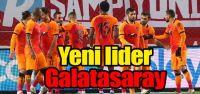 Yeni lider Galatasaray
