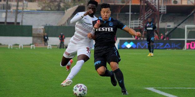 Trabzonspor, Hatay'da güldü